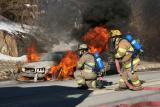 Bridgeport Ave Vehicle Fire (Shelton) 1/28/05