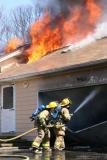 Nell's Rock Rd. Fire (Shelton) 4/18/05