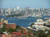 A different view of Sydney Harbour