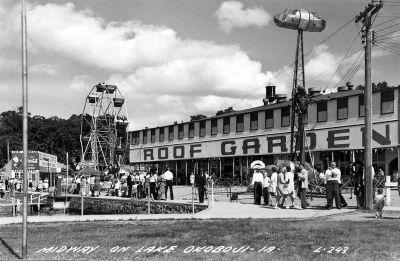 Midway at Arnolds Park