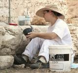 Preserving the Neptune Temple at Paestum - III