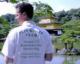 Jeff R Knapp  wearing the official club shirt in Japan