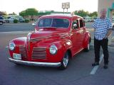 Gary Waters & his 40 Plymouth