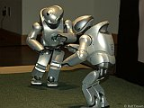 QRIO Entertainment Robots Dancing