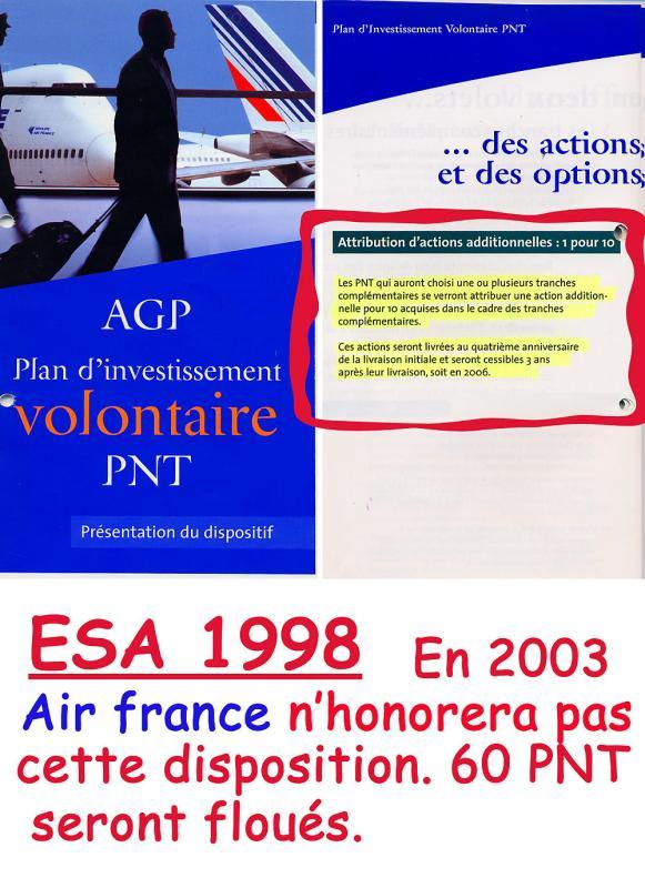 PLAQUETTE DE PRESENTATION 1998.