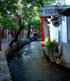 ditch,Lijiang ancient town 97