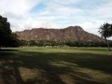 Diamond Head from Kapiolani park