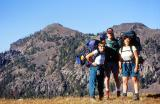 Backpacking in Yellowstone