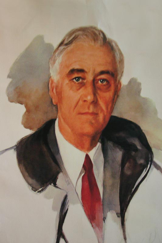 Unfinished Portrait of FDR