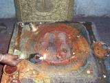 Udayavars Sri Padam at Saligrama in Karnataka