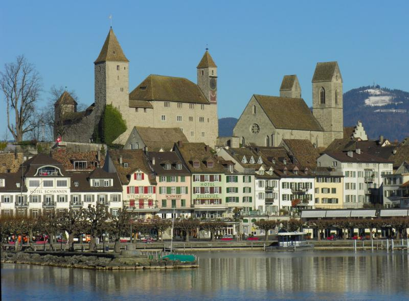 Rapperswil: the castel