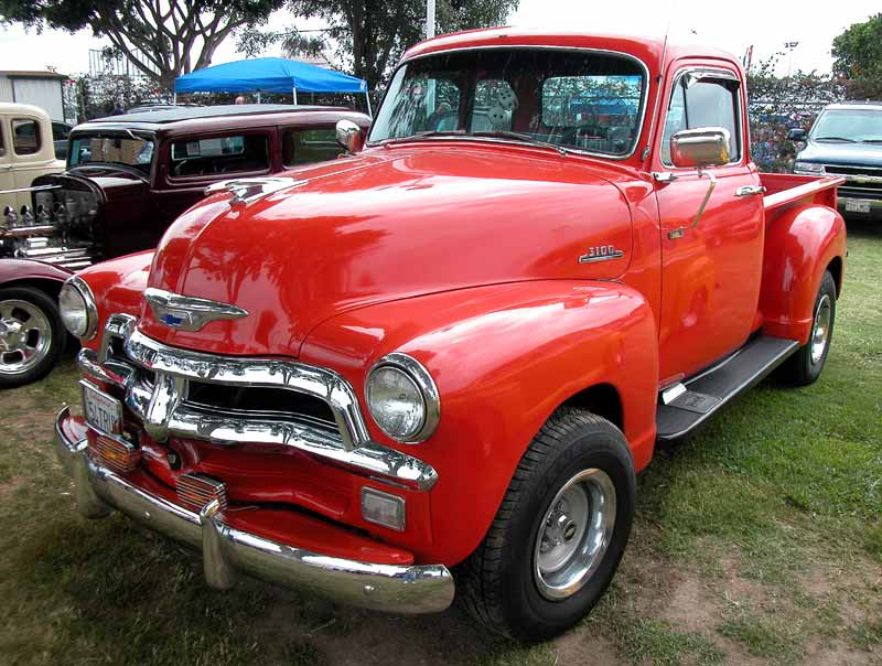 1954 Chevy Pickup - Cruisin for a Cure 2002 - more below