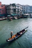 Gondole sur le Grand Canal