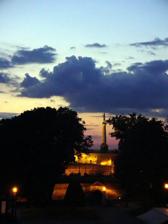 Belgrade night