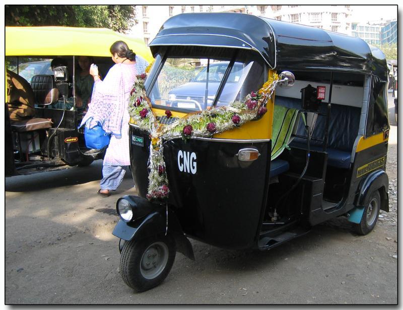 Bombay auto rickshaw 2