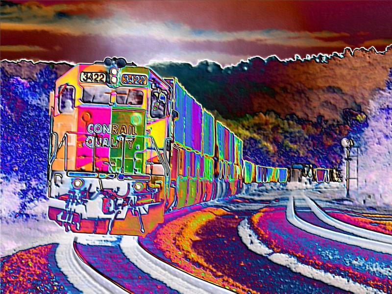 Psychedelic Train