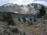 Duck Lake from Duck Pass 3pm