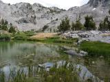 Duck Pass From Barney Lake