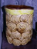 heather's swirly jar