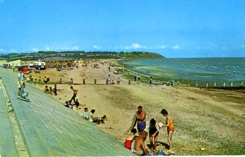 Leysdown Beach 1956