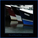 Three Well Arranged Boats