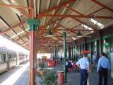 Inside Fremantle Station
