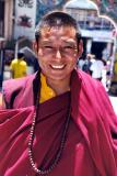 Tibetan Monk at Boudhanath, Kathmandu