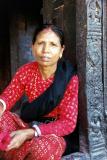Woman at Pashupatinath, Kathmandu