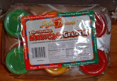 Lulu's Mexican Style Gelatinas