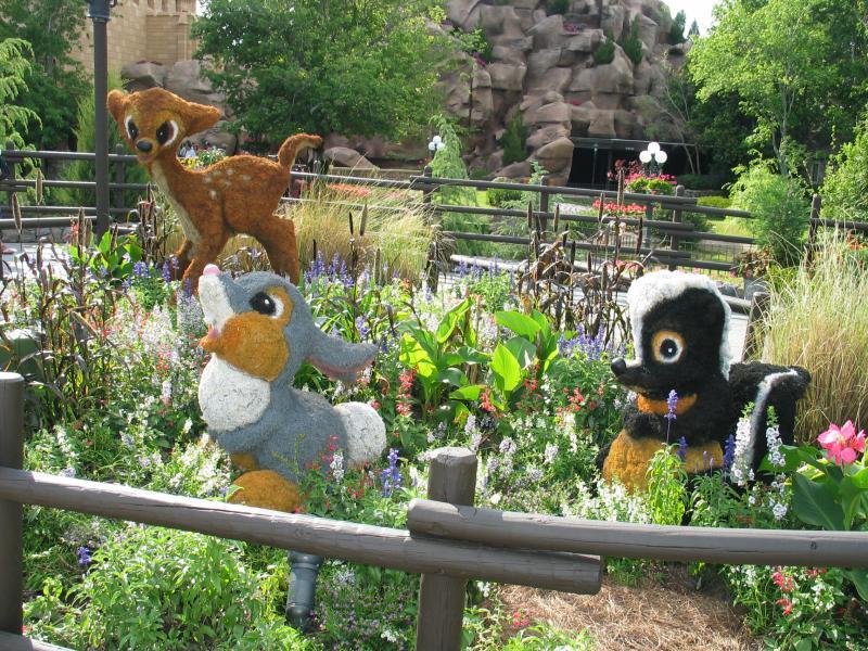 Epcot Flower and Garden Festival - Bambi Topiary