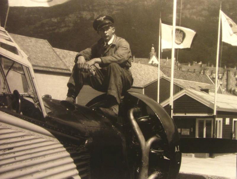 JU 52 - W.I.Furre -Son of Reinhard Johan Larsson  Fure - Cilla M Villumsdtr Vilnes