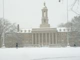 Hazy Old Main, Penn State University