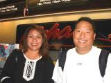 Aloha from ITO CSA's Pua & Wes