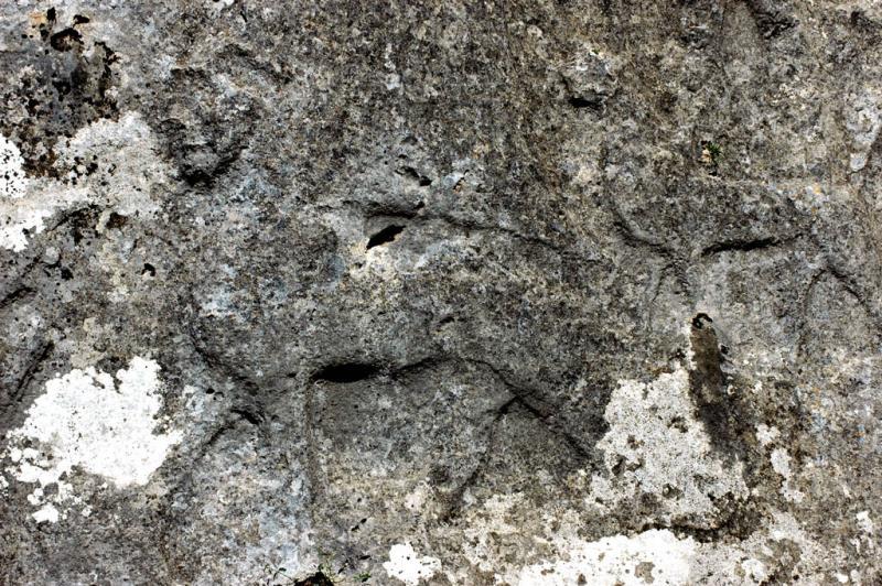 Yazilikaya panthers under feet gods