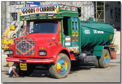 Bombay water truck