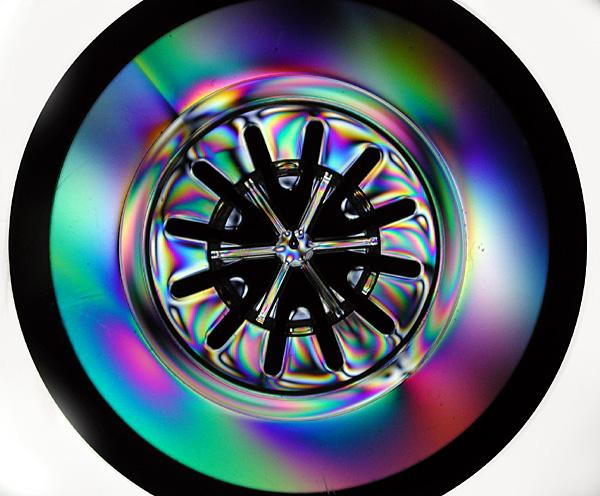 CD hub polarized