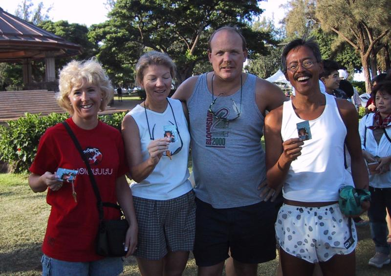 Peggy Sue, Connie & Max Bischoff (Spokane) and Val (Seattle)