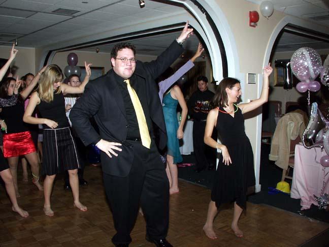 DJ and T Dance Floor