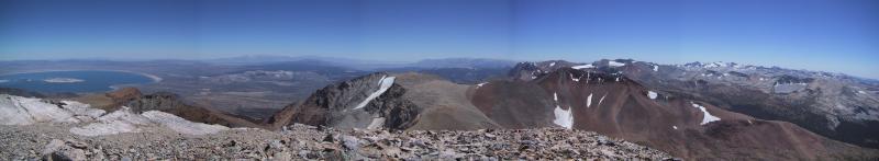 Mount Dana: Summit panorama.