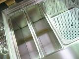 Portabottiglie e vasca ghiaccio con griglia
