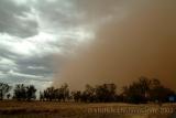 Sand storm in NSW Australia