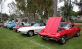 A few corvettes