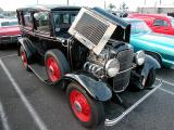 1931 Ford model A - note at bottom by J. Ellison