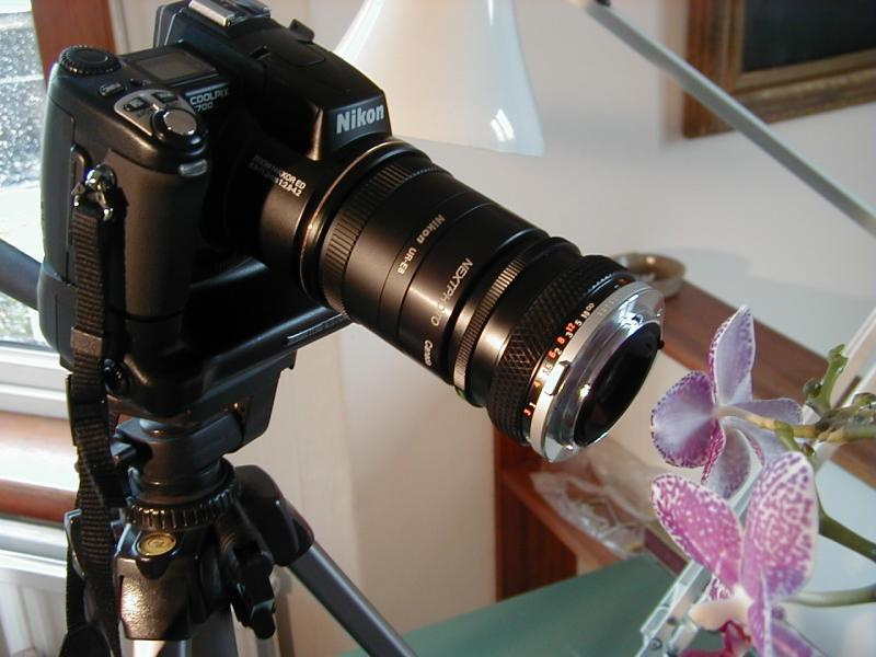 CP5700 & Oly lens