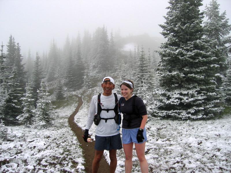 Glenn & Deb, on the way to Corral Pass