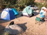 The camp ground.