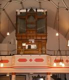 Organ at Lathom Chapel.