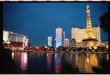 Bellagio view of Paris and Bally's