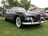 Custom 1953 Cadillac by Ghia - once owned by Rita Hayworth and now residing at the Petersen Automotive museum