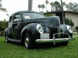 1940 Ford, two door sedan
